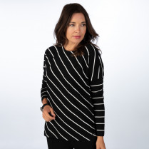 T-Shirt - Regular Fit - Streifen