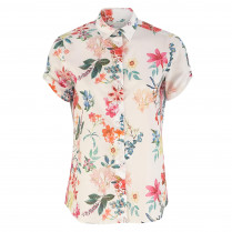 Bluse - Loose Fit - Flower-Prints
