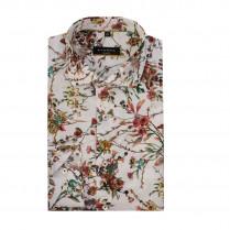 Hemd - Slim Fit - Flowerprint 100000