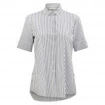 Hemdbluse - Loose Fit - Stripes