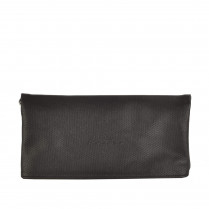 Foldover-Clutch - Leder-Optik 100000