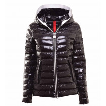 Steppjacke - Regular Fit - Lack-Optik