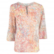 Bluse - Loose Fit - Paisleymuster