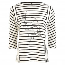 Shirt - Loose Fit - Stripes
