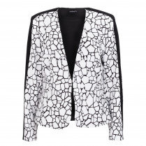 Blazer - Loose Fit -  Print