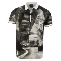 Polo - Regular Fit - Muster-Print 117149