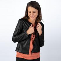 Blazer - Slim Fit - vegan leather Jacket