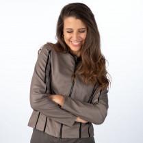 Jacke - Slim Fit - vegan leather Jacket