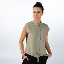 Hemdbluse - Regular Fit - Zierschleife