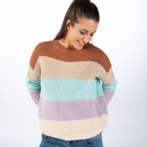 Pullover - Loose Fit - Stripes
