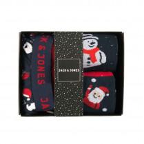 Geschenkbox - Boxershorts - Socken - Santa Claus