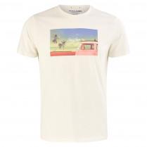 T-Shirt - Regular Fit - Vintage-Print 100000