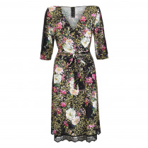 Kleid - Regular Fit - V-Neck