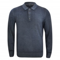 Poloshirt - Slim Fit - Wolle