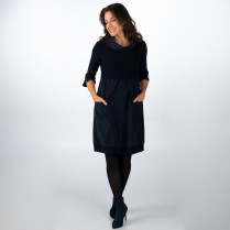 Kleid - Regular Fit - 3/4 Arm