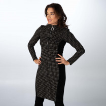 Kleid - Regular Fit - Turtleneck