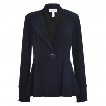 Blazer - Loose Fit - unifarben