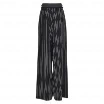 Hose - Loose Fit - Stripes