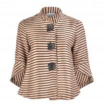 Jacke - Loose Fit - Stripes 100000