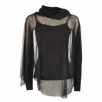 Shirt - Loose Fit - langarm 100000