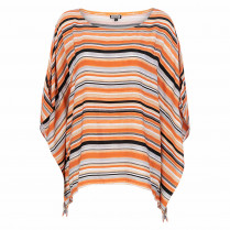 Poncho - Loose Fit - Stripes