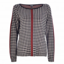Pullover - Loose Fit - Houndstooth