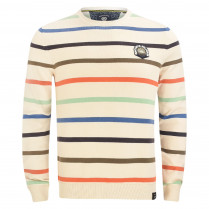 Strickpullover - Regular Fit - Stripes