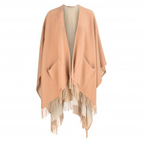 Poncho - Loose Fit - offen