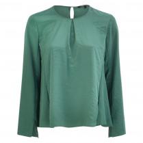 Shirtbluse - Loose Fit - unifarben