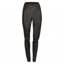 Leggings - Slim Fit - Leder-Optik