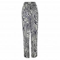 Hose - Loose Fit - Zebra