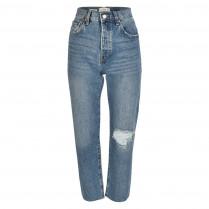 Jeans - Straight Fit - Havana