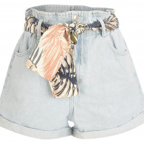 Shorts - Loose Fit - Tropical
