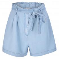 Paperbag-Shorts - Loose Fit - Smart
