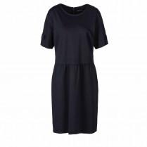 Jerseykleid - Regular Fit - Armriegel