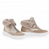 Sneaker-Boots - Leder