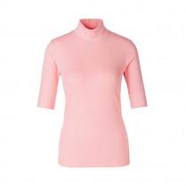 T-Shirt - Regular Fit - Stehkragen