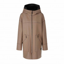Wende-Parka - Comfort Fit - Woll-Mix