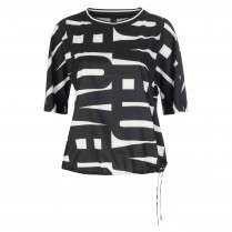 Bluse - Loose Fit - Round Neck