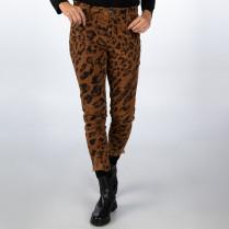 Jeans - Slim Fit - Leoprint