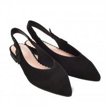 Sling-Sandale - schwarz 100000