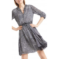 Kleid - Regular Fit - Minicheck