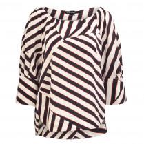 Bluse - Loose Fit - Stripes