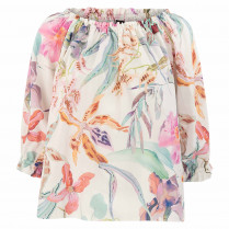 Bluse - Loose Fit - Print
