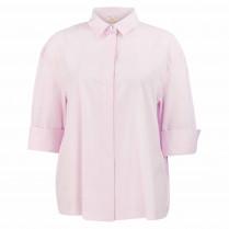 Bluse - Loose Fit - Unifarben
