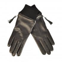 Lederhandschuh - Zip