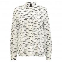 Bluse - Loose Fit - Leoparden