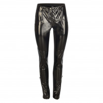 Leggins - Slim Fit - Lackleder-Optik
