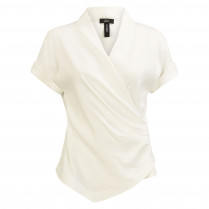 Blusenshirt - Regular Fit - unifarben