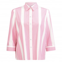 Hemdbluse - oversized - Stripes